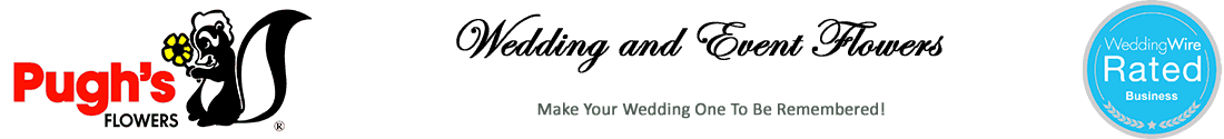 Pughs Wedding Flowers Logo